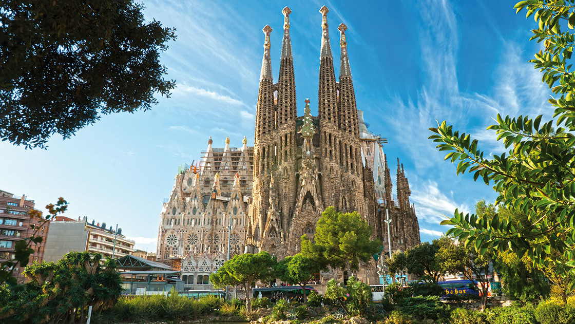 Die fantastische Sagrada Familia in Barcelona