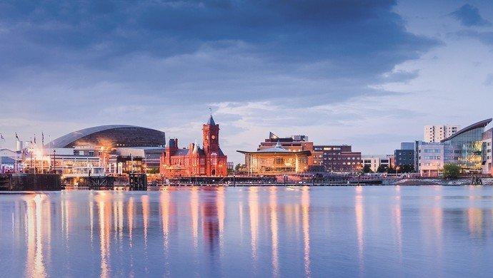 Klassenfahrt Cardiff - Hauptstadt von Wales