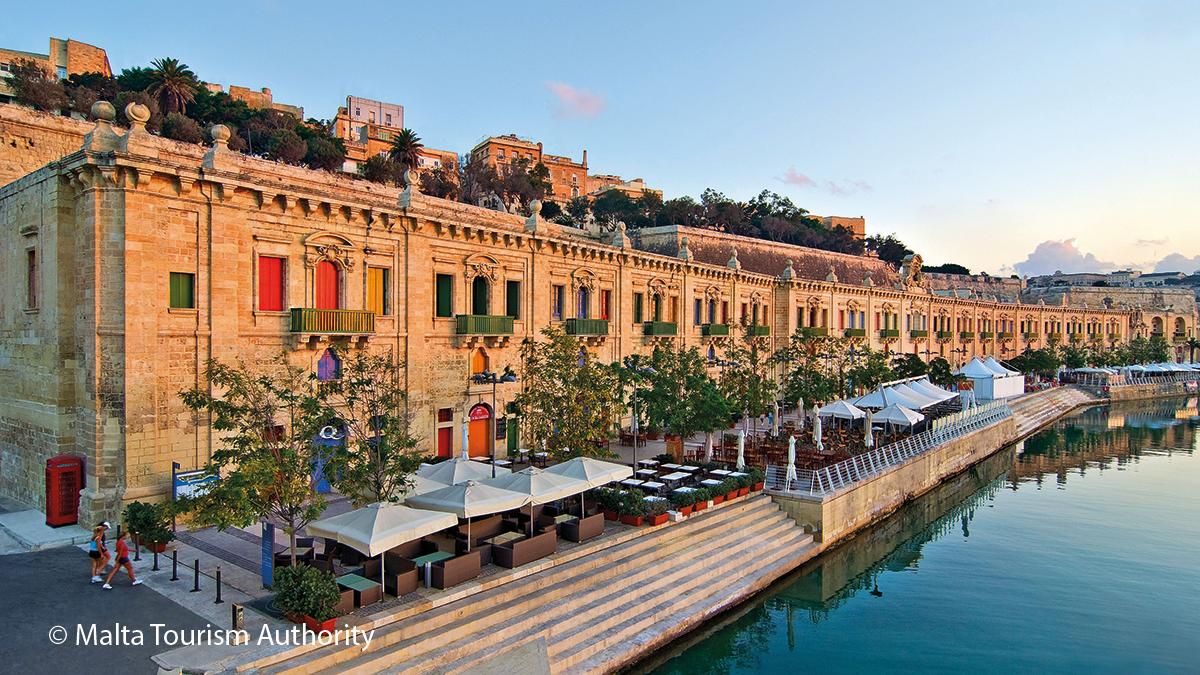 Valletta am Wasser