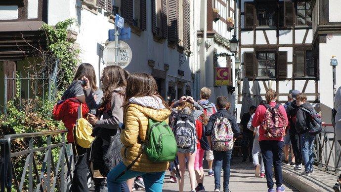 Klassenfahrt Straßburg und das Elsass