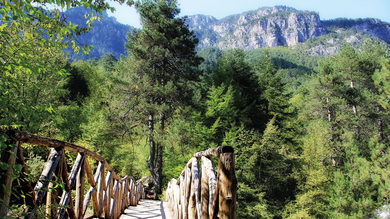 Makedinien Olymp Brücke