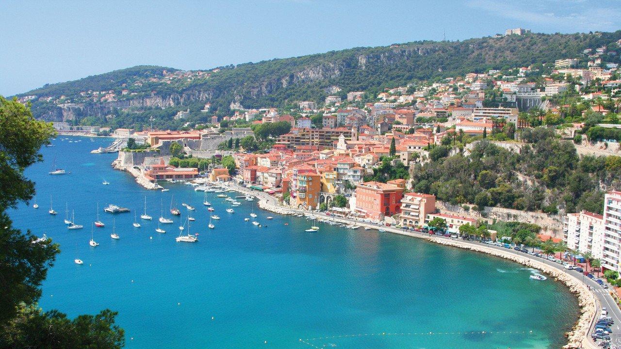 Küste an der Côte d'Azur