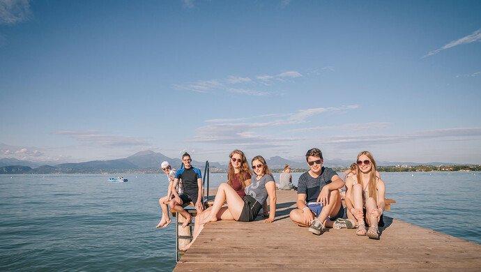 Klassenfahrt Südlicher Gardasee