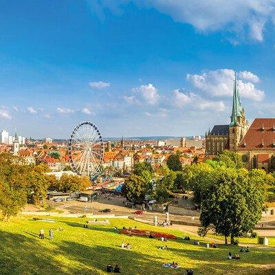 Alle Programmbausteine Erfurt auf einen Blick