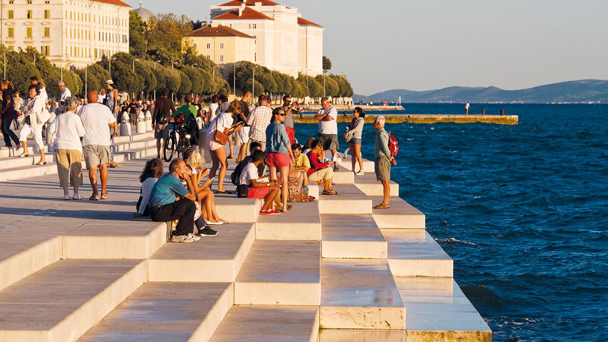 Zadar Wasserorgel