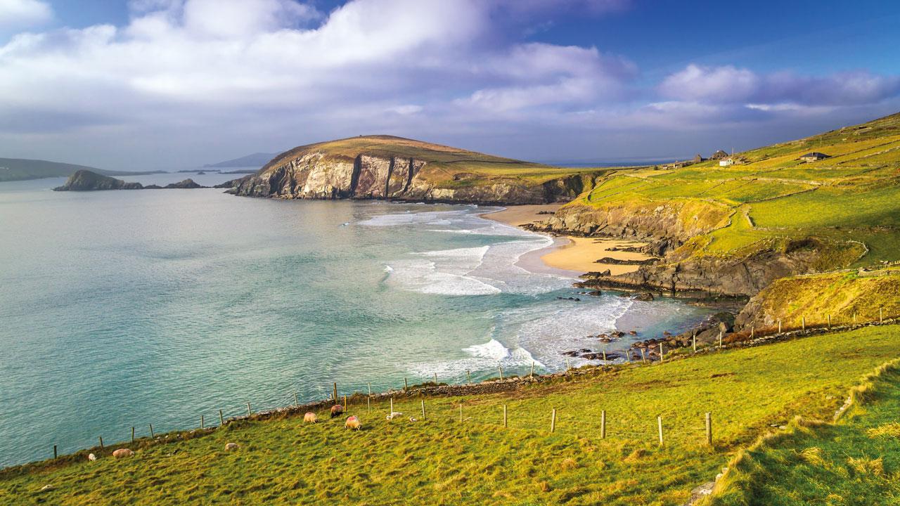 Irische Bucht bei Wind