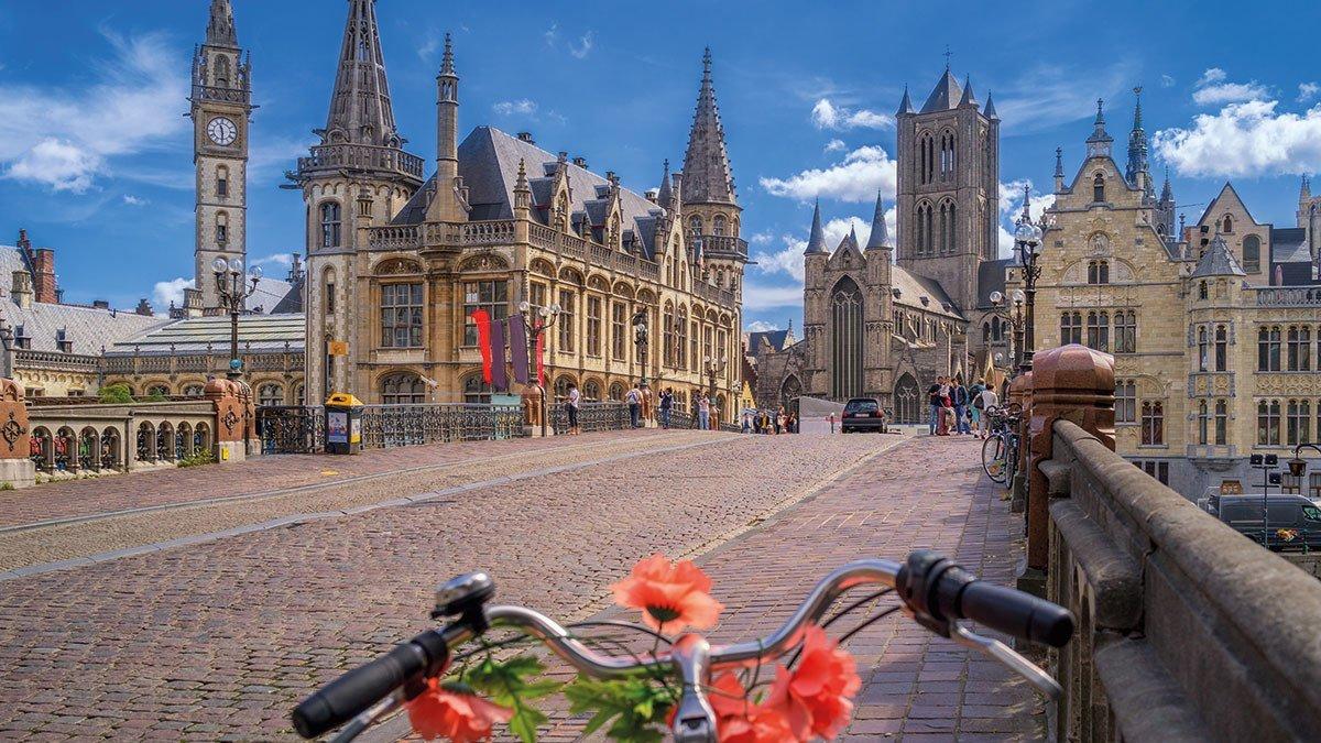 Altstadt mit dem Fahrrad erkundet