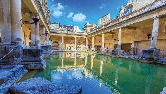 Klassenfahrt Bath und Bristol