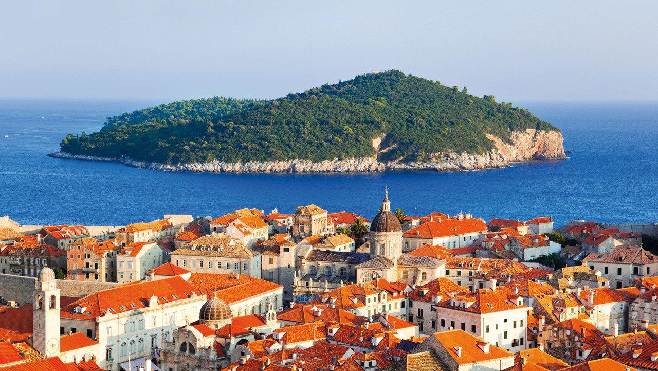 Dubrovnik mit Insel