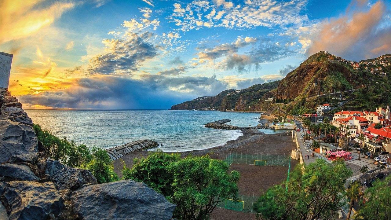 Madeira Bucht von Ribeira Brava