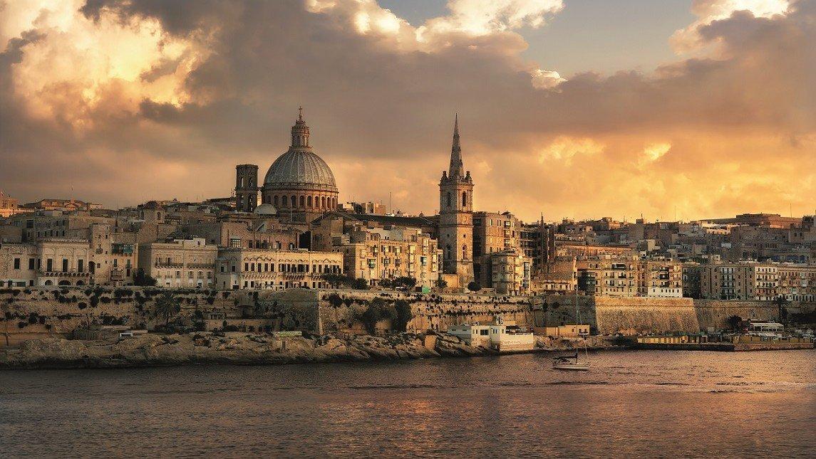 Valletta im Abendlicht