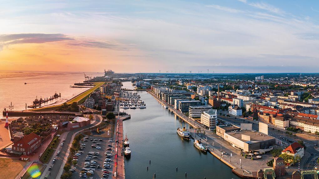 Stadtansicht Bremerhaven