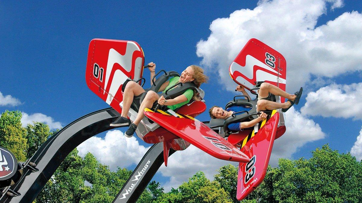 Wild Wings Kinderflugzeug im Ferienpark Duinrell
