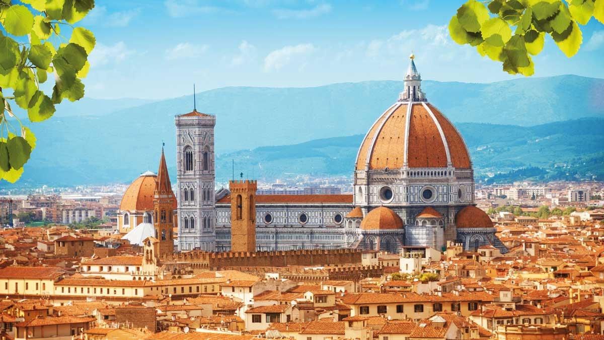 Panoramablick auf Florenz