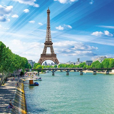 Panoramabootsfahrt auf der Seine