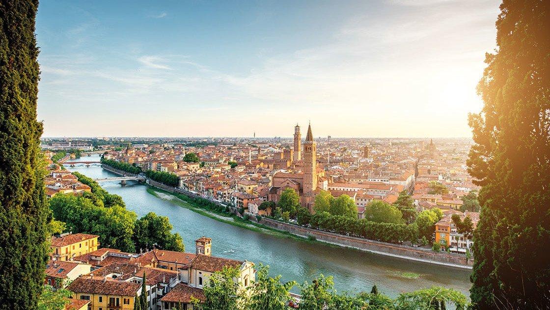 Stadtansicht Verona
