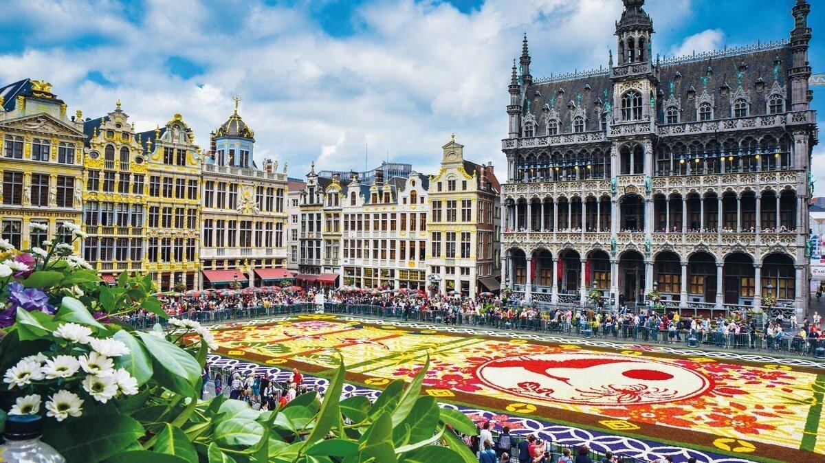 Brüssels Blumenteppich
