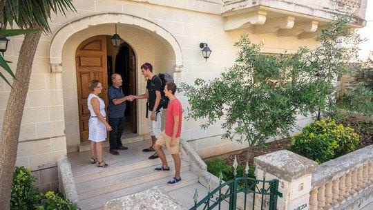 Gastfamilien in Malta