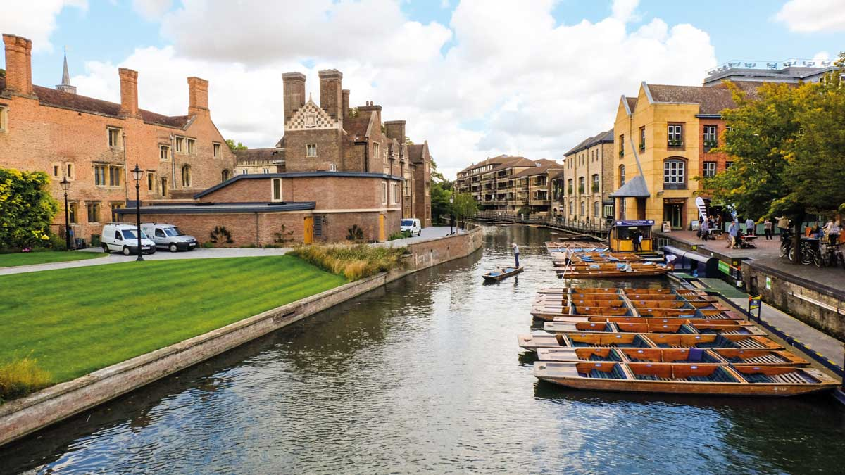 Punting Boote in Cambridge