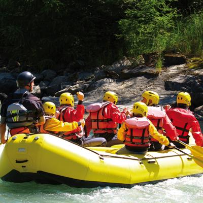 Wassersport auf der Cetina