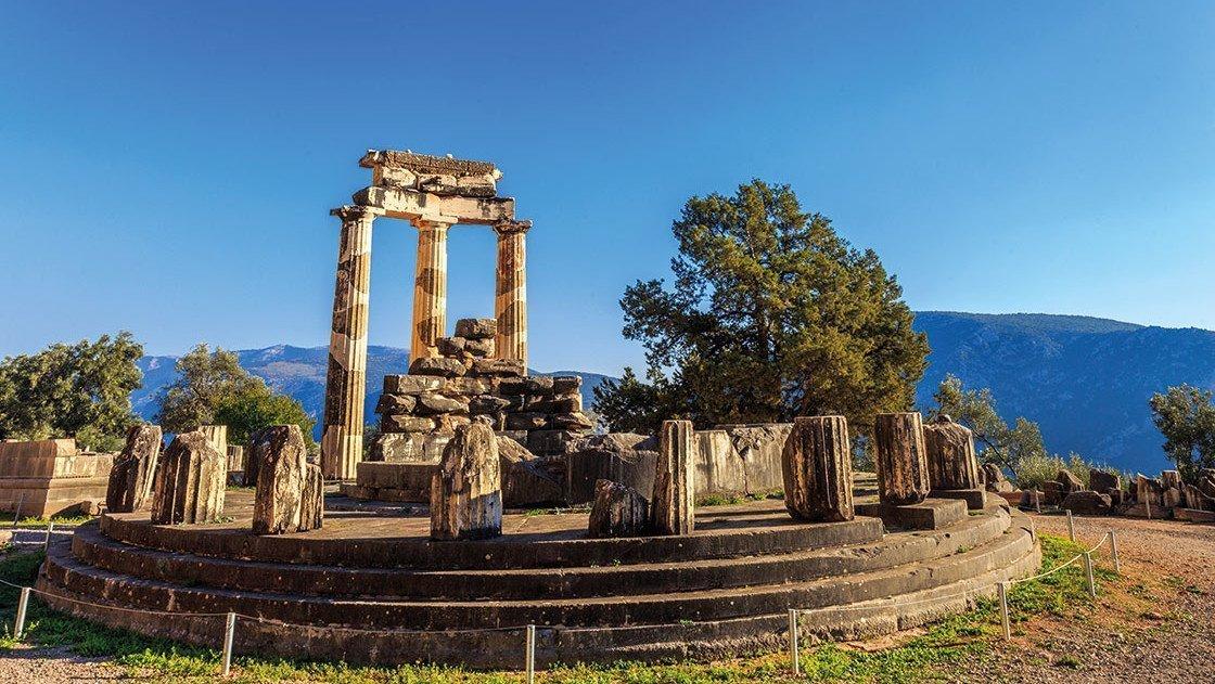 Ausgrabungsstätte Griechenland