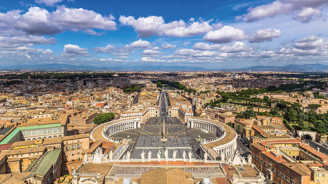 Panorama des Vatikan