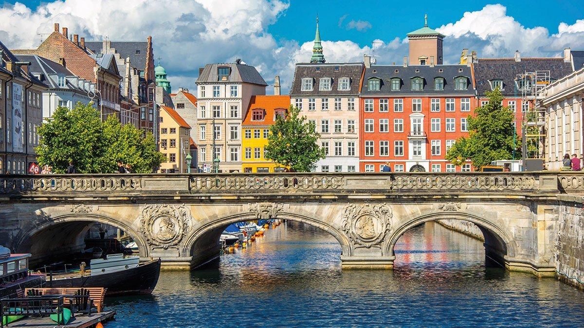 Brücke in Kopenhagen