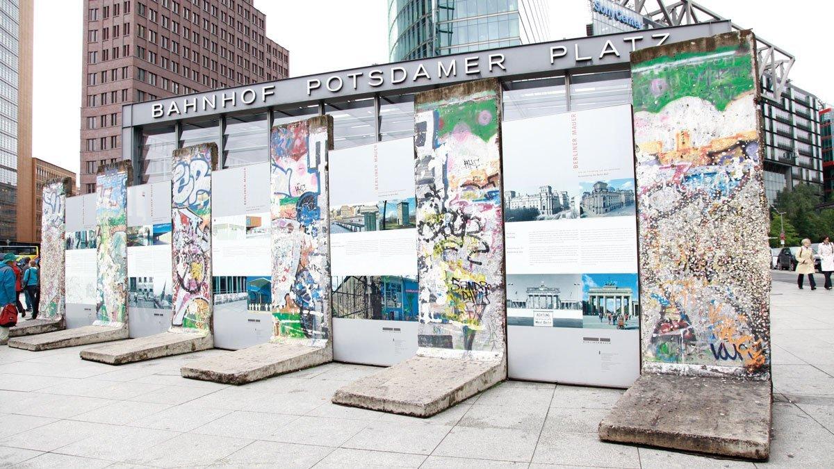 Mauerstück in Berlin