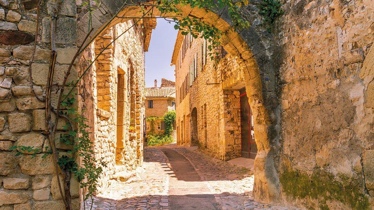 Altstadtgasse in der Provence