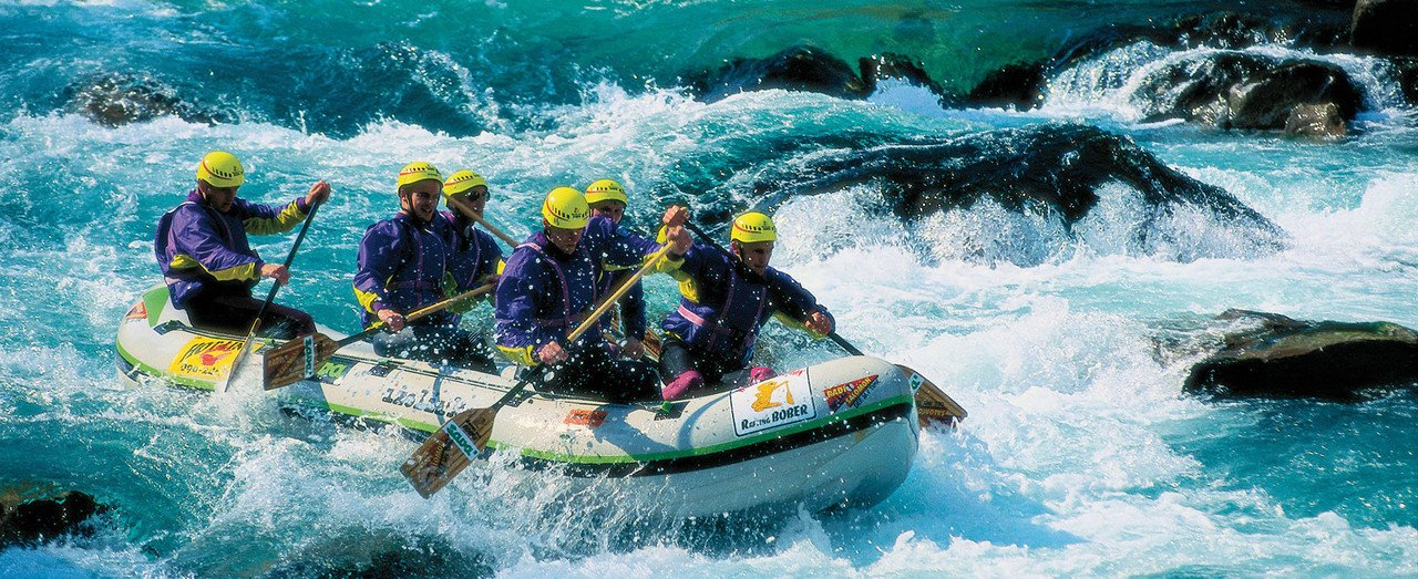 Whitewater Rafting in Slowenien