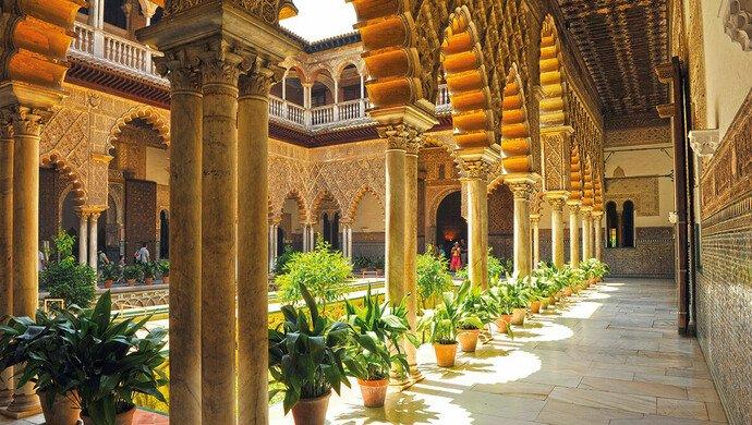 Flugreise nach Andalusien