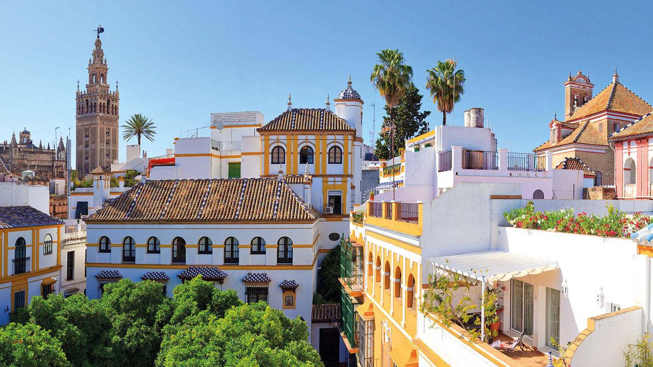 Häuser in Sevilla