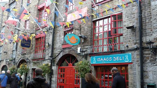 Dublin: Isaacs Hostel