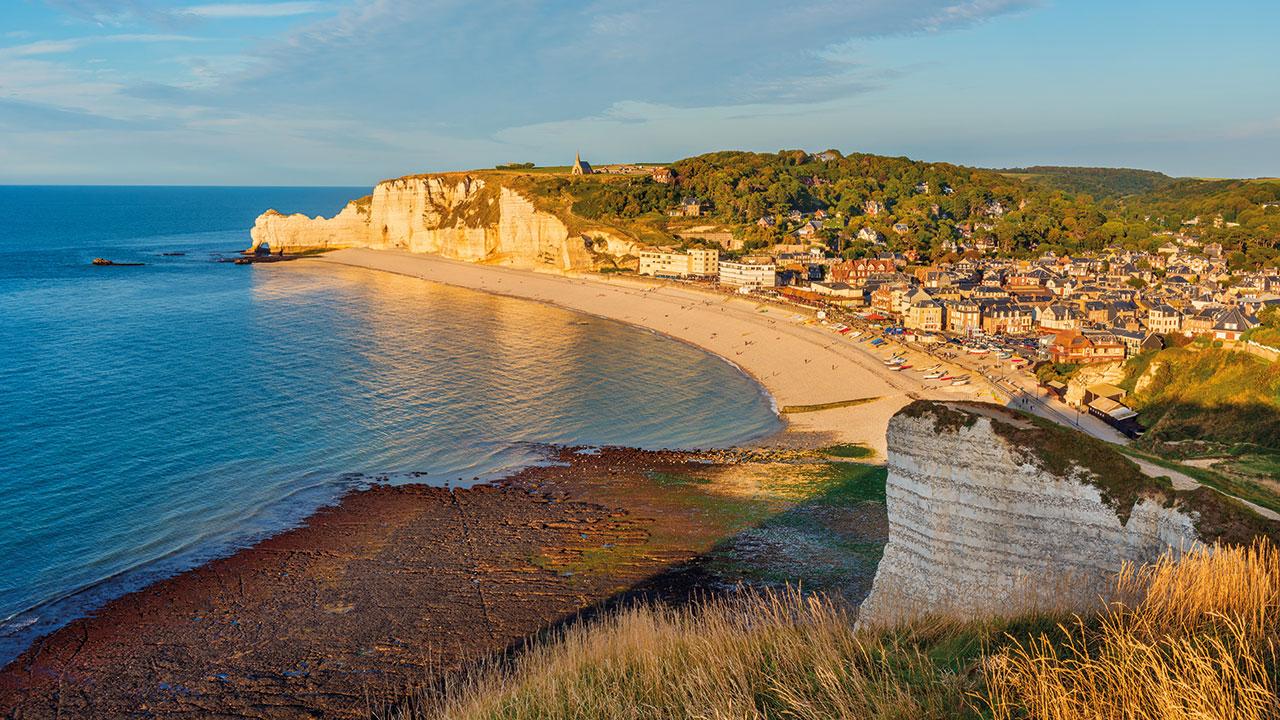 Normandie Etretat Küste