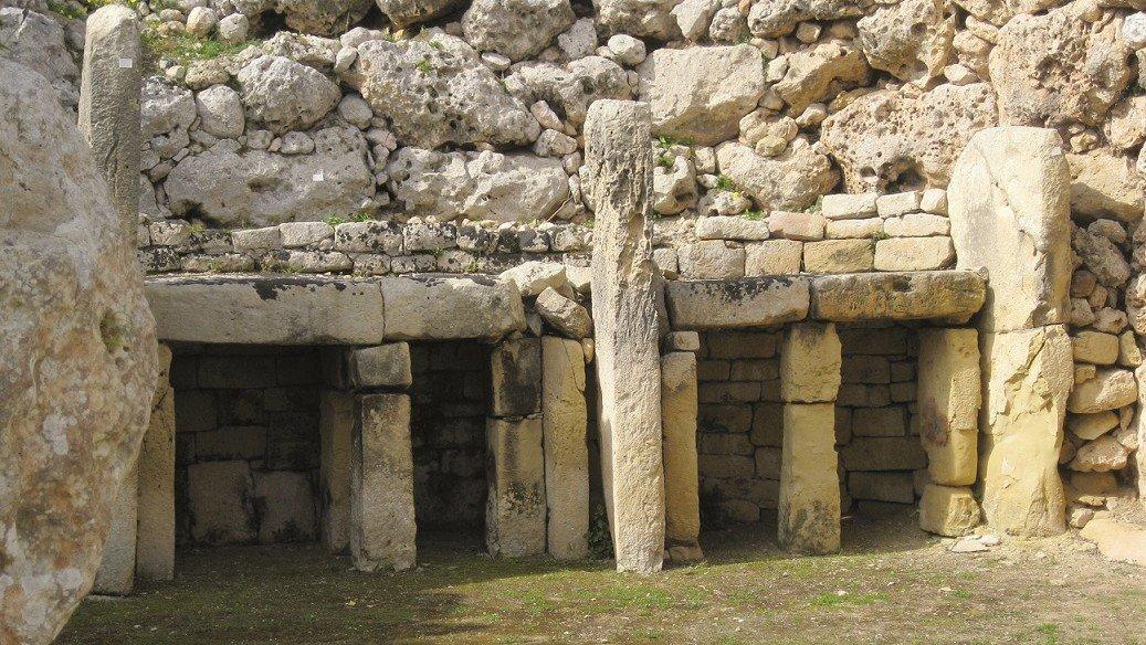 Megalithische Tempelanlage auf Gozo