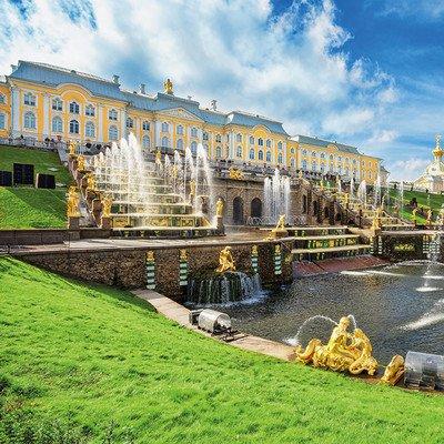 Ausflug zum Peterhof