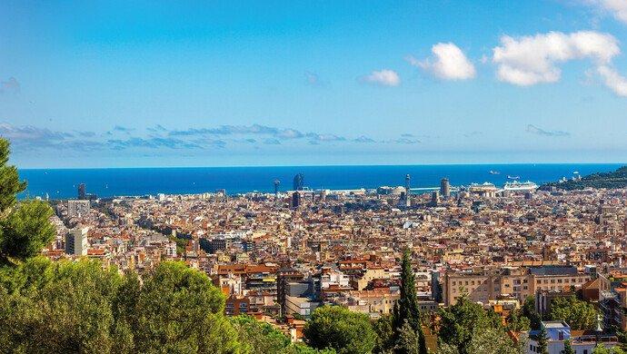 Flugreise nach Barcelona