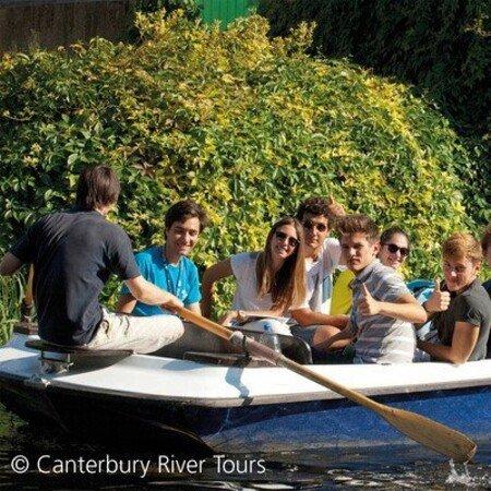 Bootsfahrt in Canterbury