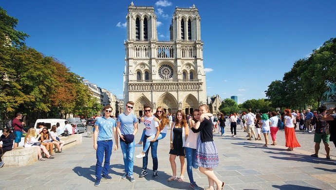 Klassenfahrten Frankreich