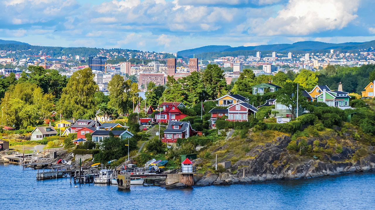 Oslo Stadtansicht
