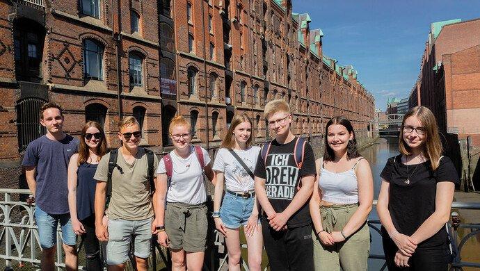 Klassenfahrt Hamburg und Kopenhagen