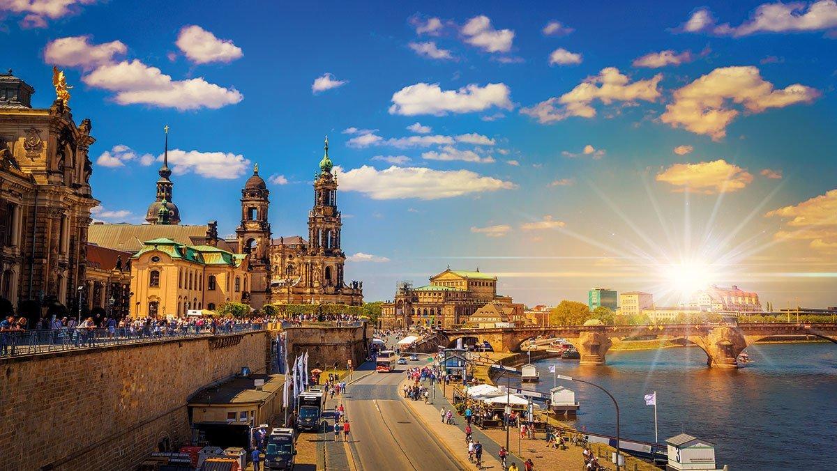 Altstadtpanorama Dresden