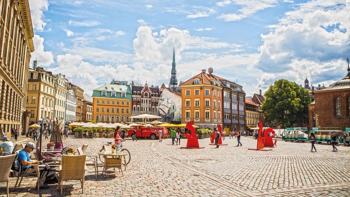 Riga´s Marktplatz