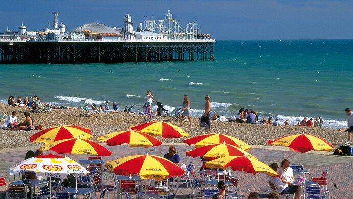 Klassenfahrt Brighton