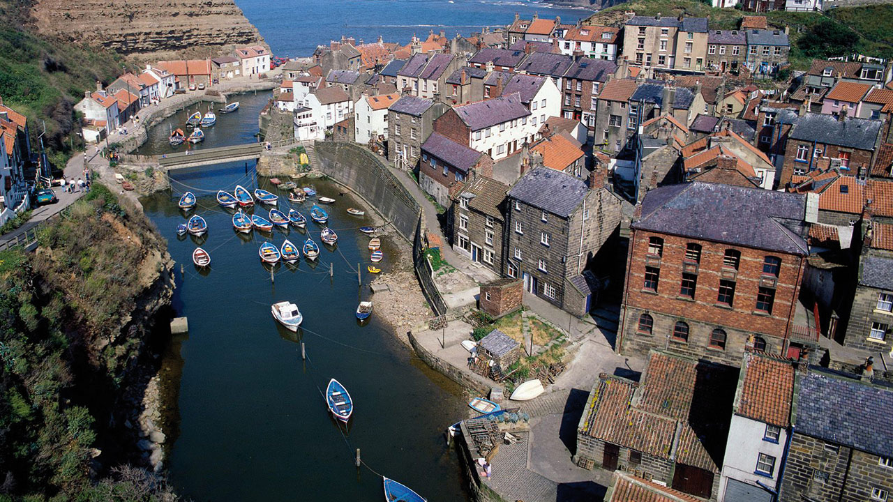 Yorkshire Staithes bei Whitby