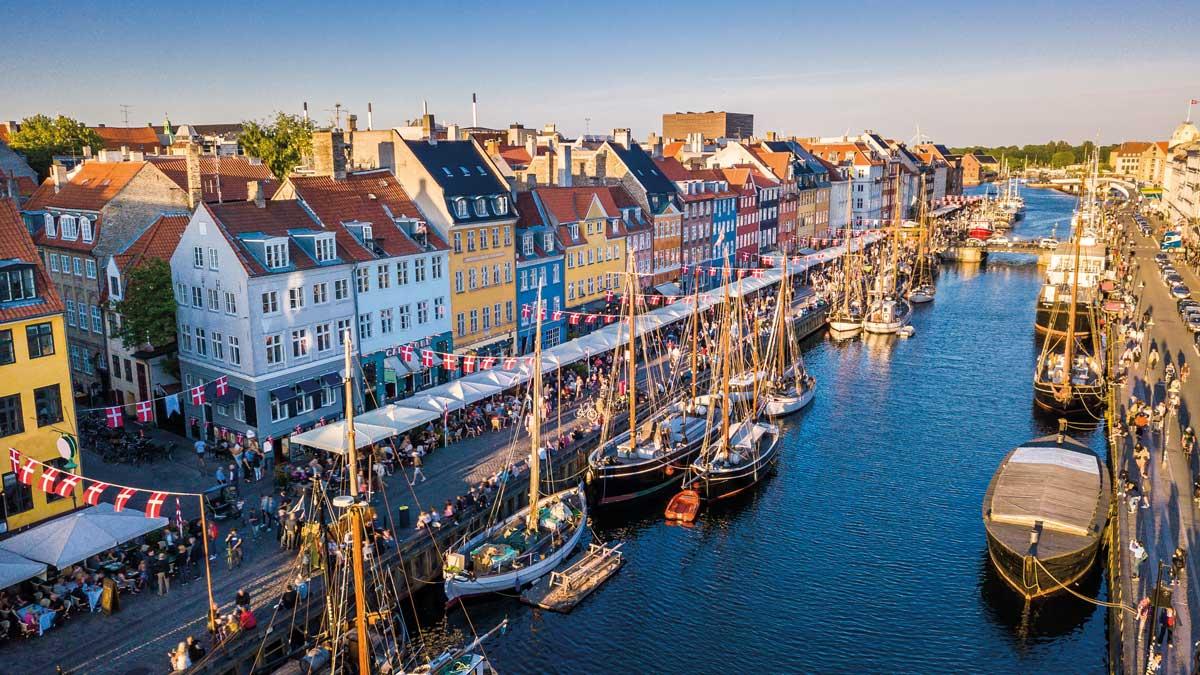 Nyhavn-Blick Kopenhagen