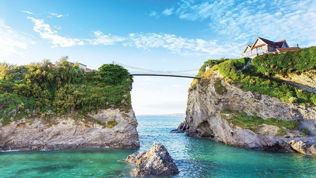Cornwall Newquay Brücke
