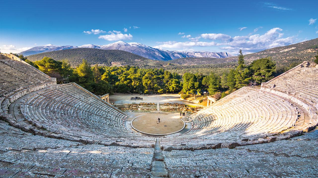 Epidauros Panorama