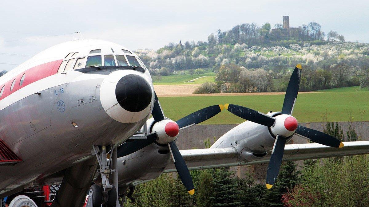 Flugzeug aus dem Technikmuseum