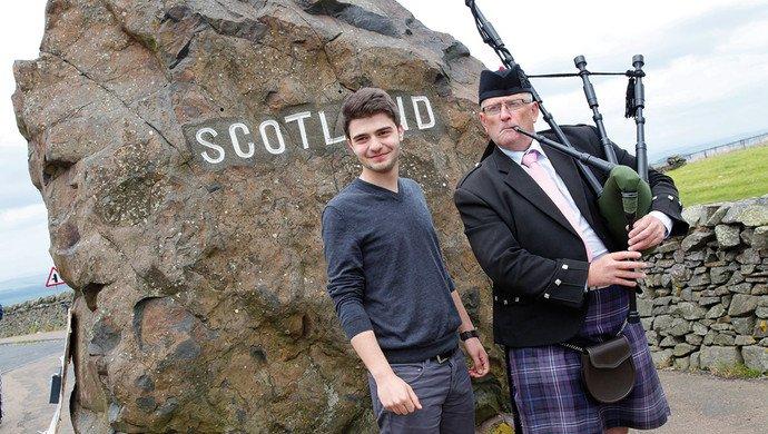 Klassenfahrt Schottland für Einsteiger